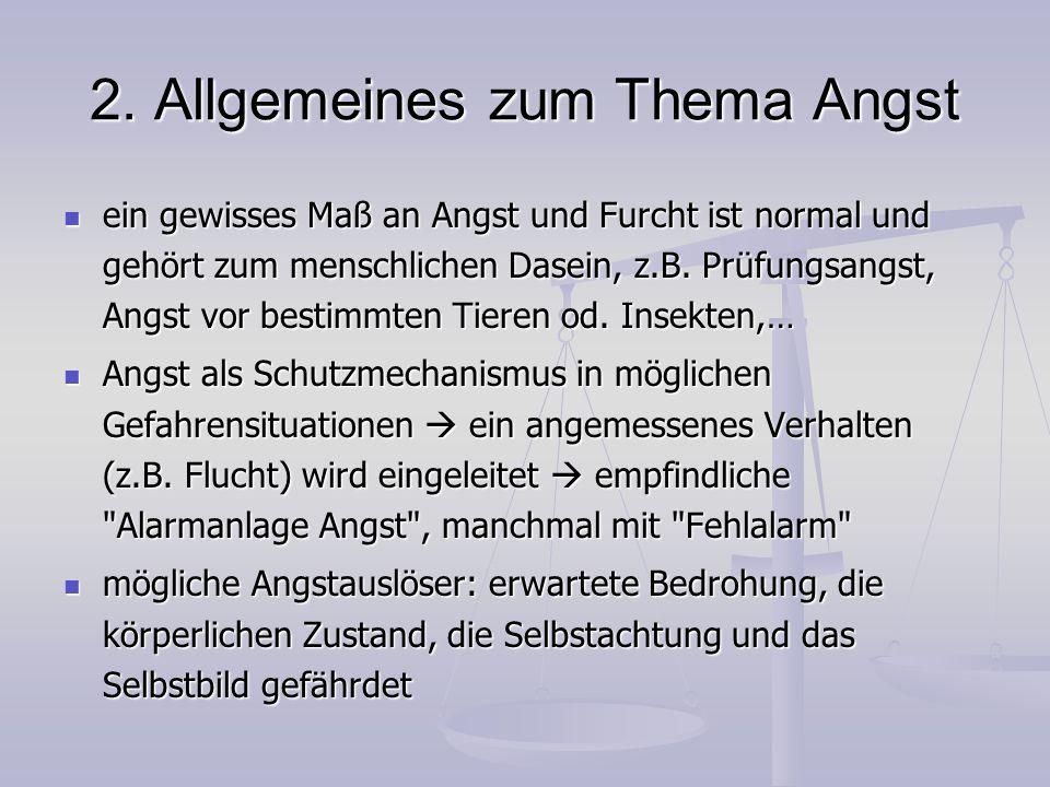6.Zwangsstörung Verhaltenstheoretische und kognitive Theorien: Zwangsgedanken- u.