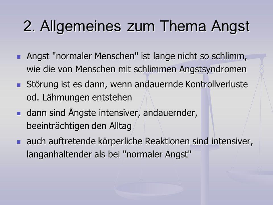 6.Zwangsstörung Therapie: am schwersten zu behandelnde psych.