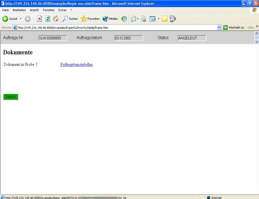 Dipl. Ing. Thomas Mickley jw http://jwconsulting.deSeite 2404.02.2003 Zugriff vom Webserver – Dokumente ansehen