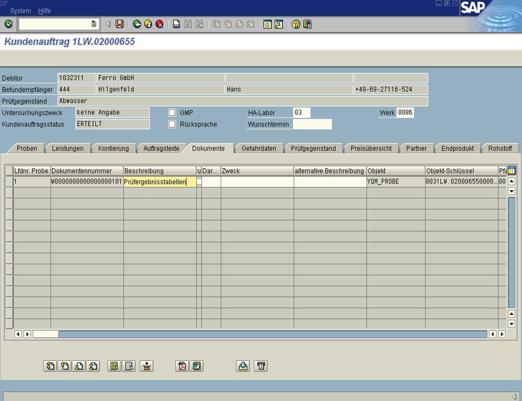 Dipl. Ing. Thomas Mickley jw http://jwconsulting.deSeite 2504.02.2003 Zugriff vom SAP R/3 – Anzeige der Dokumente aus Web