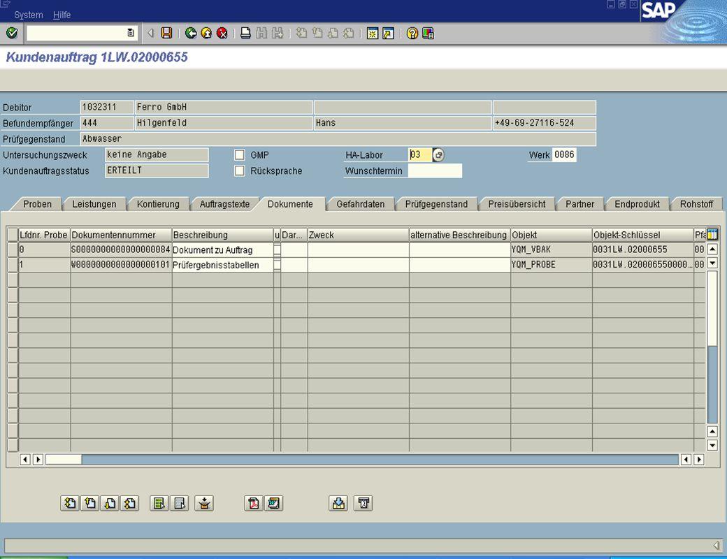 Dipl. Ing. Thomas Mickley jw http://jwconsulting.deSeite 2704.02.2003 Zugriff vom SAP R/3 – Hinzufügen neuer Dokumente
