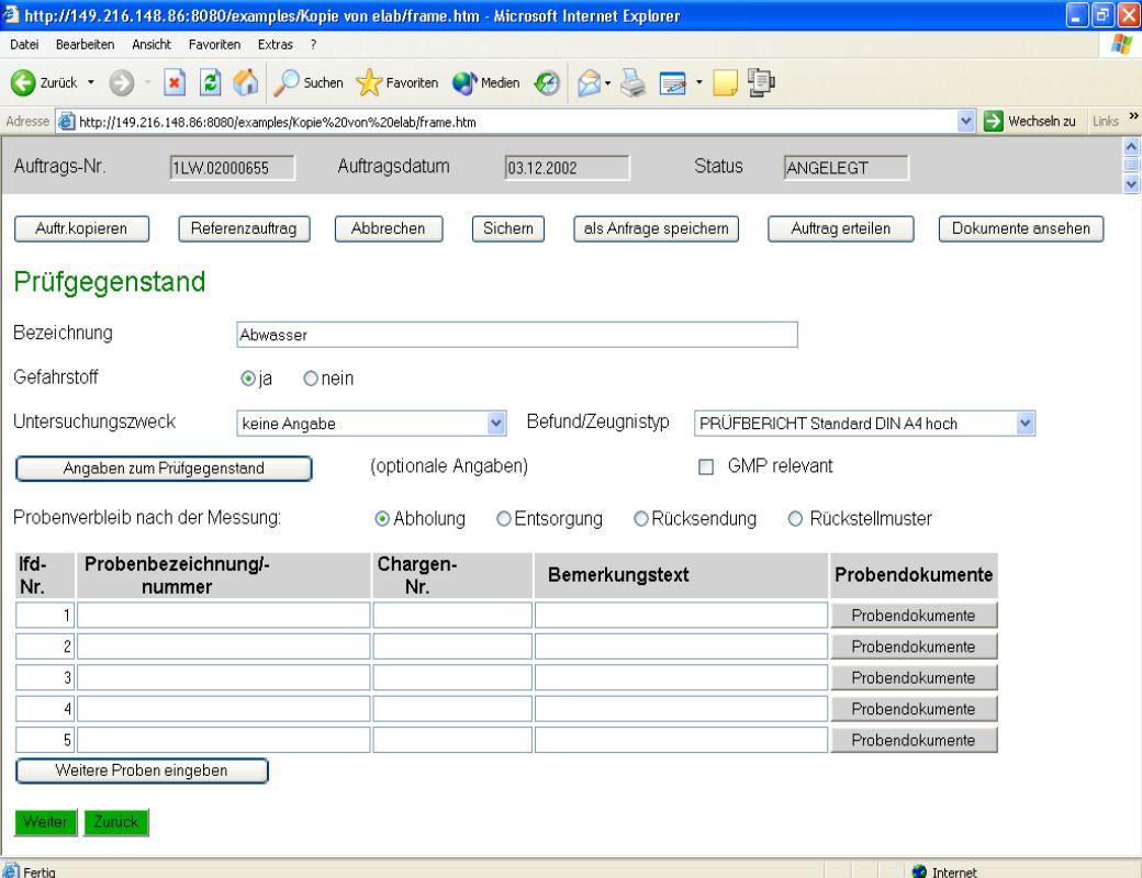 Dipl. Ing. Thomas Mickley jw http://jwconsulting.deSeite 2804.02.2003 Zugriff vom Webserver – Dokumente hinzufügen