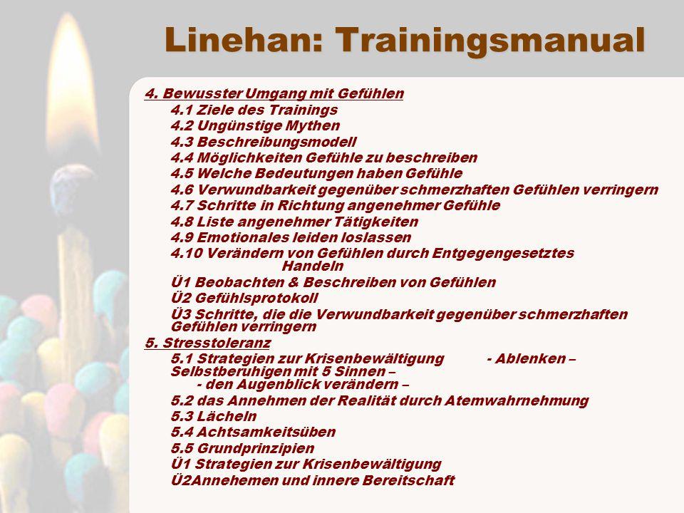 Linehan: Trainingsmanual 4.