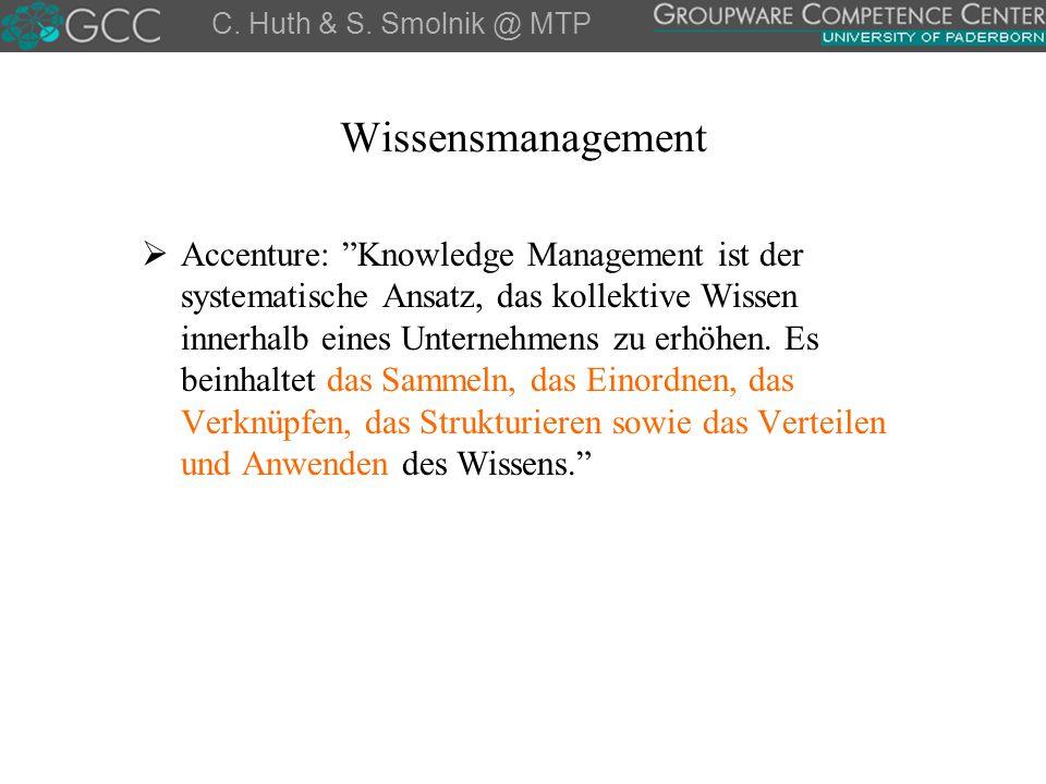 """Wissensmanagement  Accenture: """"Knowledge Management ist der systematische Ansatz, das kollektive Wissen innerhalb eines Unternehmens zu erhöhen. Es b"""