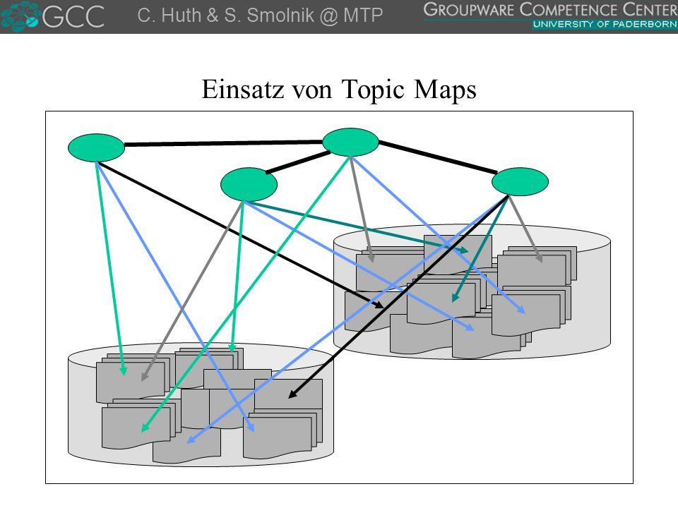 Einsatz von Topic Maps C. Huth & S. Smolnik @ MTP