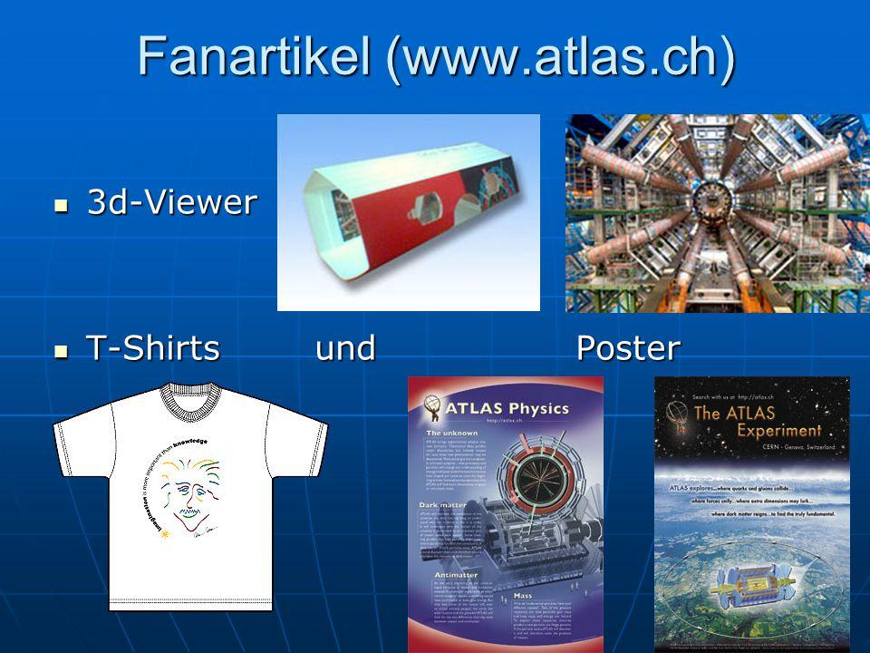 Fanartikel (www.atlas.ch) 3d-Viewer 3d-Viewer T-Shirts und Poster T-Shirts und Poster