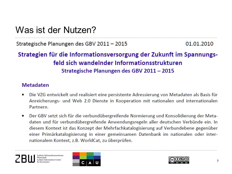 28 Seite 28 Prof. Dr. Klaus Tochtermann Email: k.tochtermann@zbw.eu