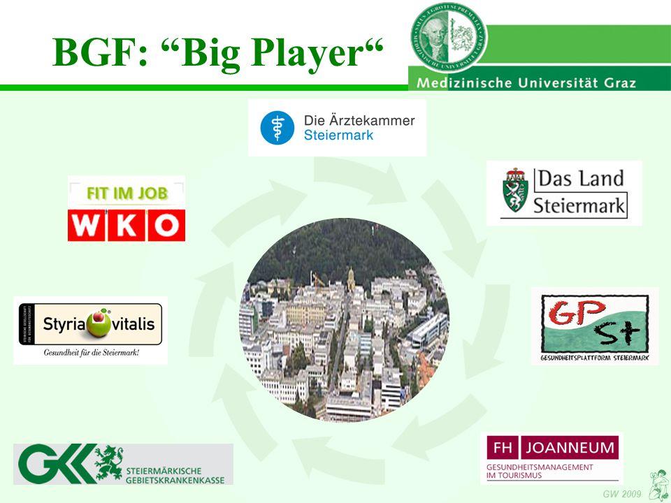 GW 2009 BGF: Big Player