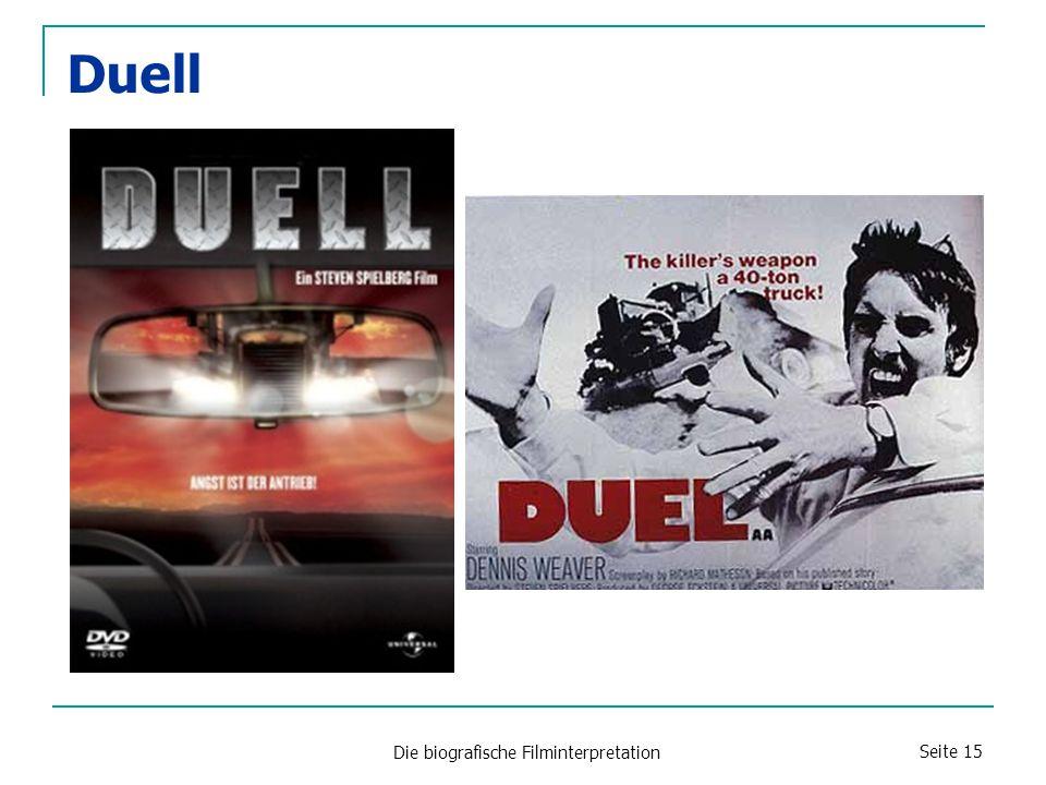 Die biografische Filminterpretation Seite 15 Duell