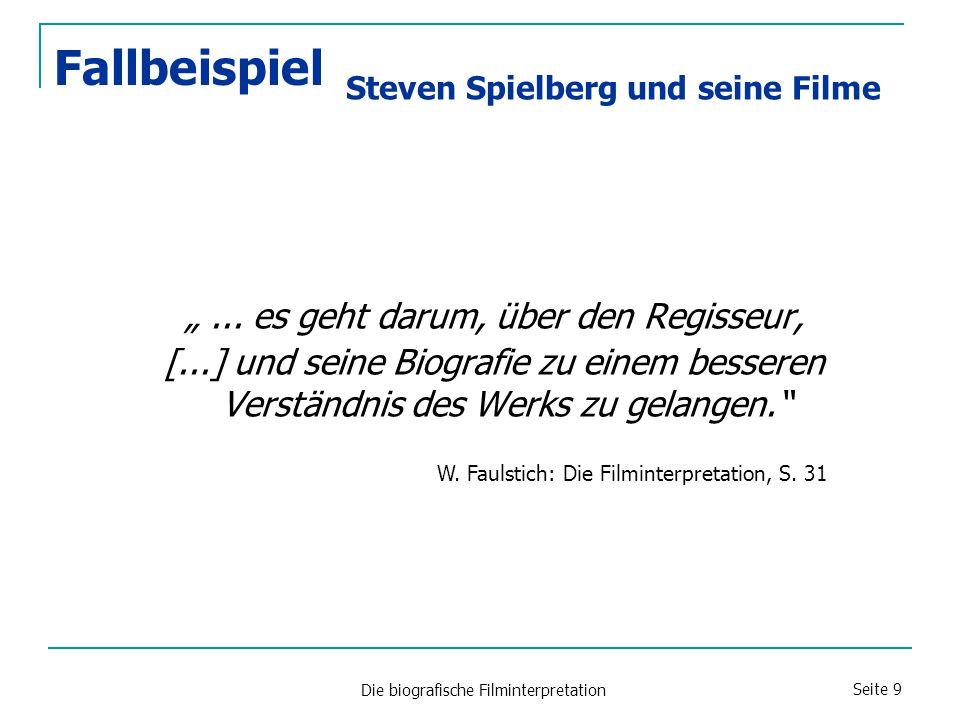 """Die biografische Filminterpretation Seite 9 """"..."""