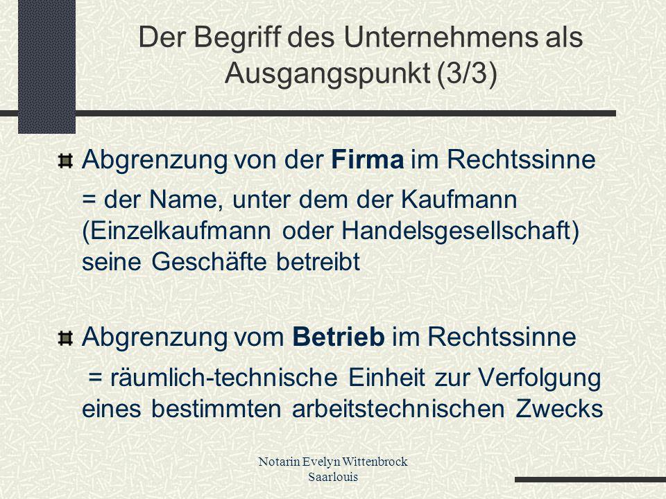 Notarin Evelyn Wittenbrock Saarlouis C.Die gesetzlichen Rechtsfolgen 1.