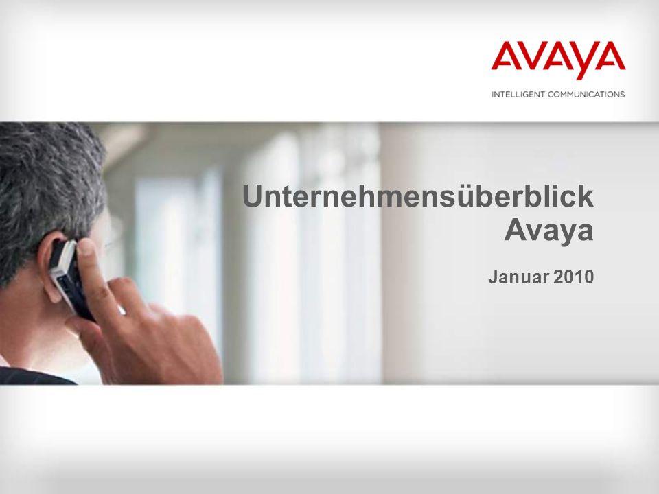 Unternehmensüberblick Avaya Januar 2010
