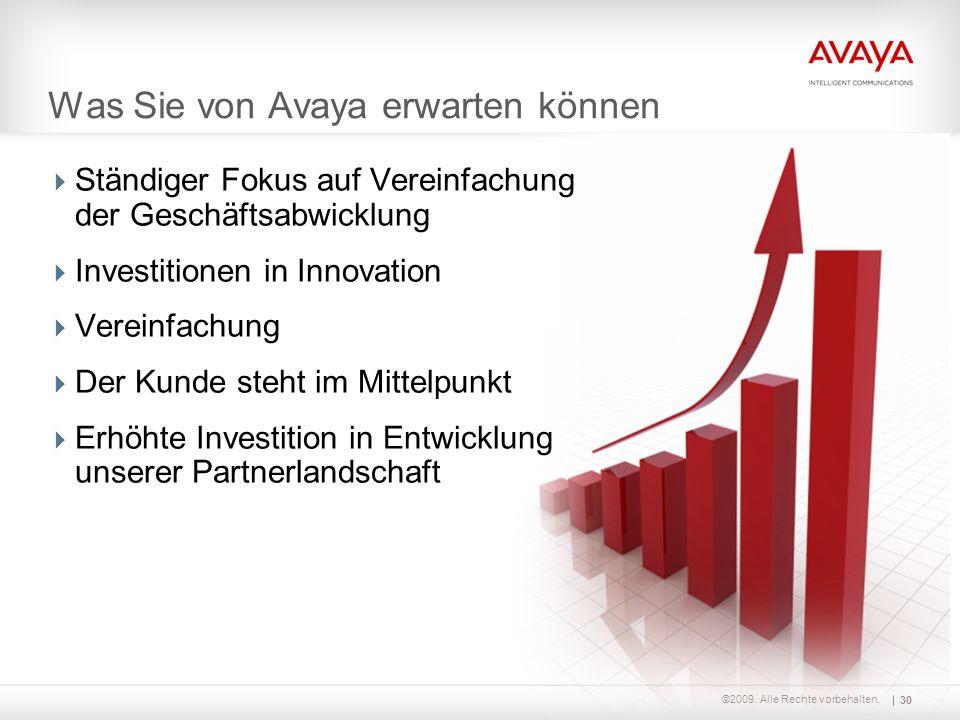©2009. Alle Rechte vorbehalten.  Ständiger Fokus auf Vereinfachung der Geschäftsabwicklung  Investitionen in Innovation  Vereinfachung  Der Kunde