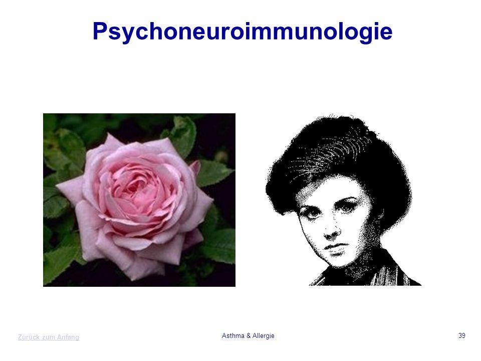 Zurück zum Anfang Asthma & Allergie39 Psychoneuroimmunologie