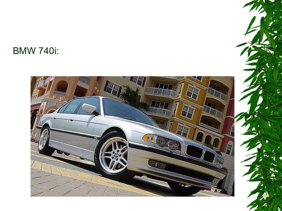 BMW 740i: