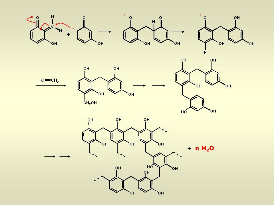  Bakelit – Beispiel eines Duroplasten Struktur  Vernetzungsgrad Eigenschaften chemisch und thermisch sehr widerstandsfähig