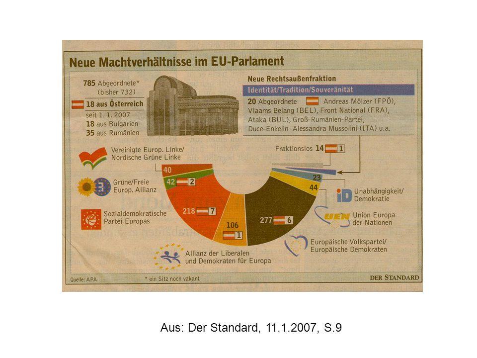 Aus: Der Standard, 11.1.2007, S.9