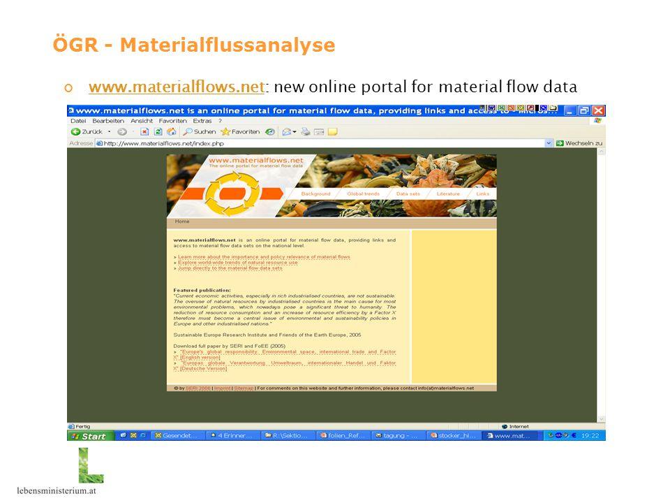 www.materialflows.netwww.materialflows.net: new online portal for material flow data