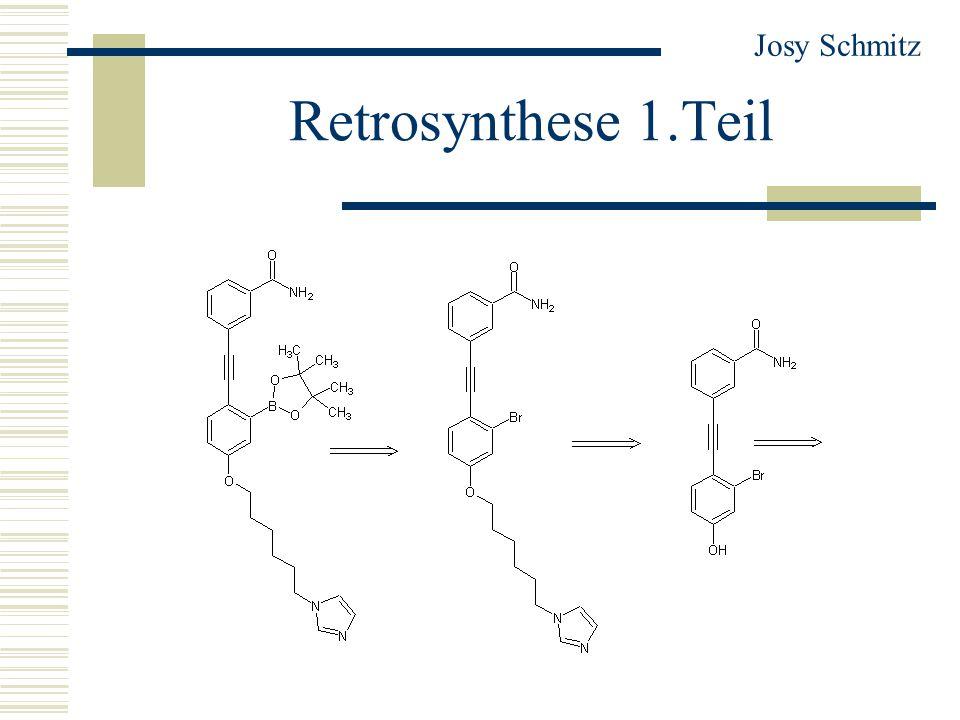 Retrosynthese 1.Teil Josy Schmitz