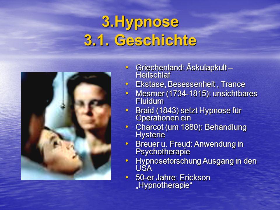 3.Hypnose 3.1.