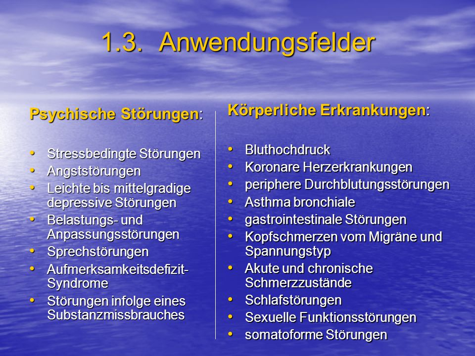 6.2.Imagination: EI- Interventionsarten Aufbau der Sitzung: 1.