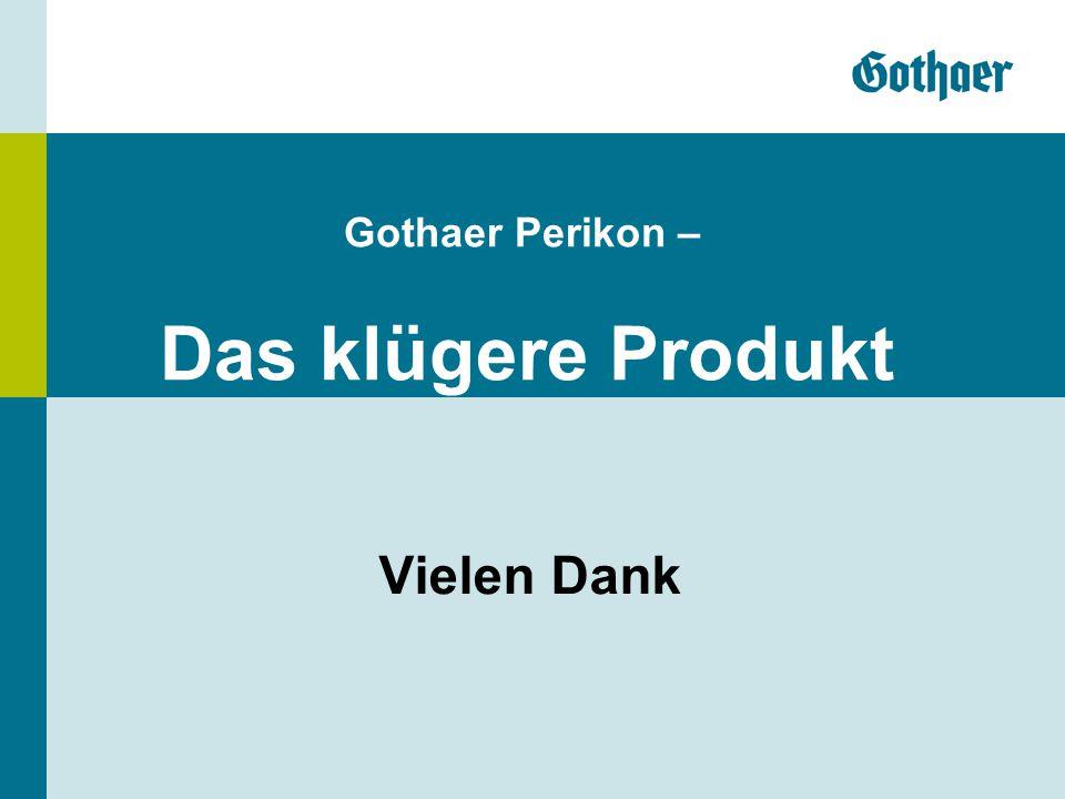 Vielen Dank Gothaer Perikon – Das klügere Produkt