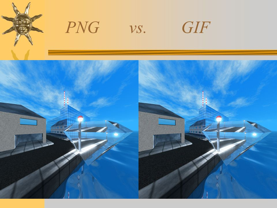 PNG vs. GIF
