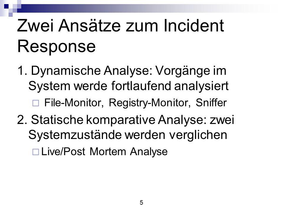 6 Incident-Arten 1.Malware (Viren, Trojaner, Würmer) 2.