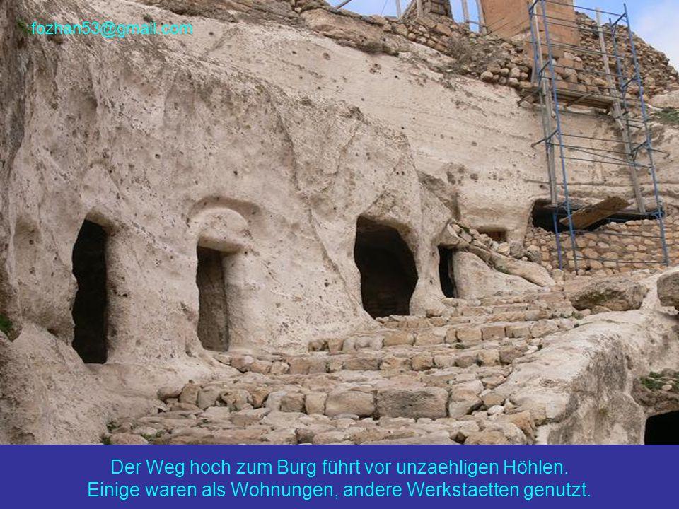 Hier ist der Burg Hasankeyf, oder was davon übrig geblieben ist...