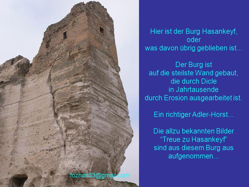 Mit dem Bau eines Wasser-Staudammes wird diese zu alten Hasankeyf zugehörige alte Moschee und das wunderschöne Minarett ebenfals unter den Wassermassen begraben bleiben...