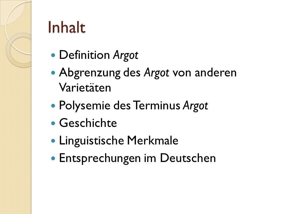 Linguistische Merkmale Syntaktische Änderungen, z.B.