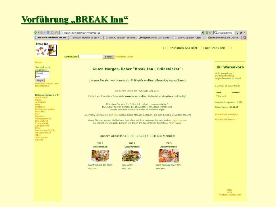 """Vorführung """"BREAK Inn"""