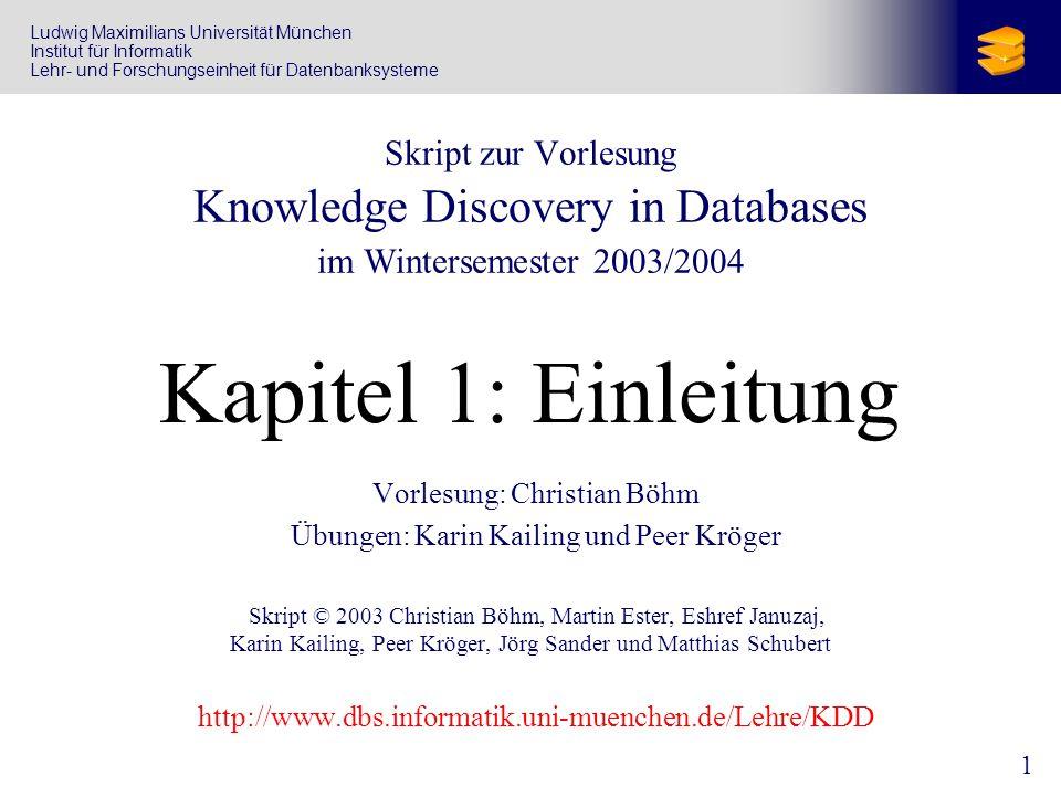 2 Vorlesungs-Team Christian Böhm Oettingenstr.67, Zimmer 1.58 Tel.