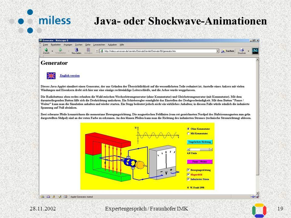 1828.11.2002Expertengespräch / Fraunhofer IMK Dissertation in verschiedenen Formaten