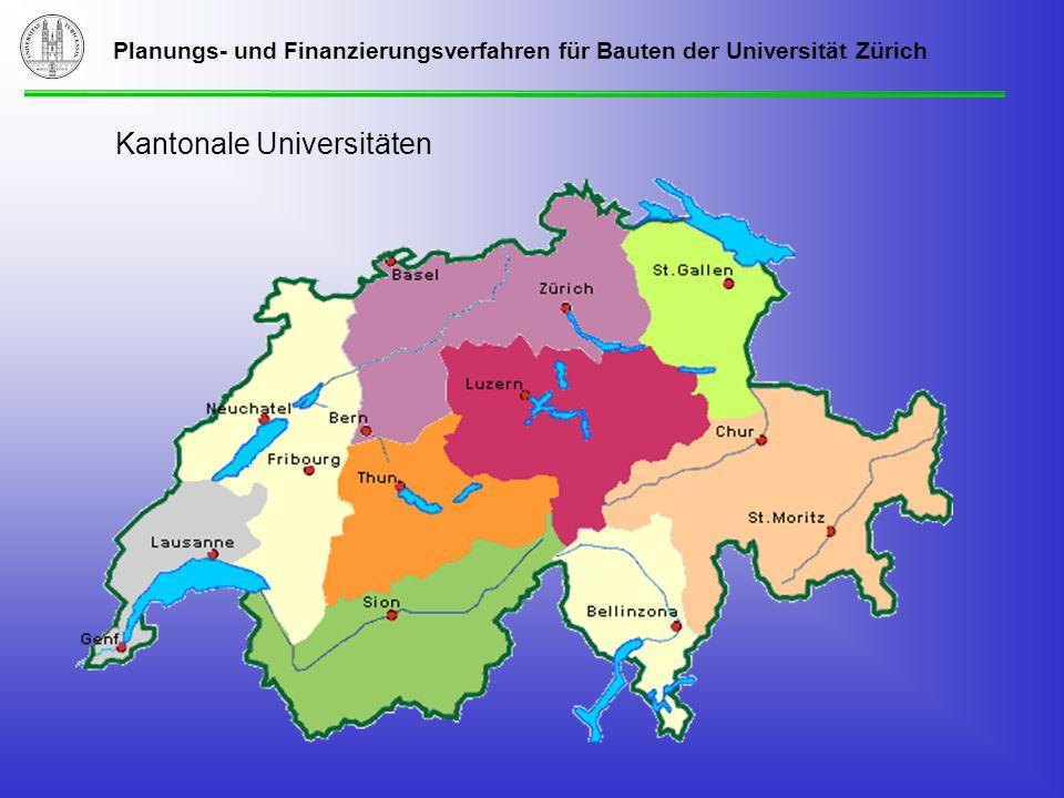 Planungs- und Finanzierungsverfahren für Bauten der Universität Zürich Ablaufplanung Gesamtsanierung Liegenschaft Plattenstrasse 32 Okt.