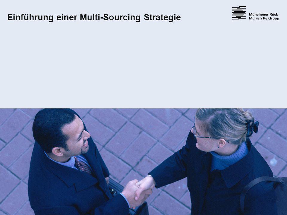 26 Einführung einer Multi-Sourcing Strategie