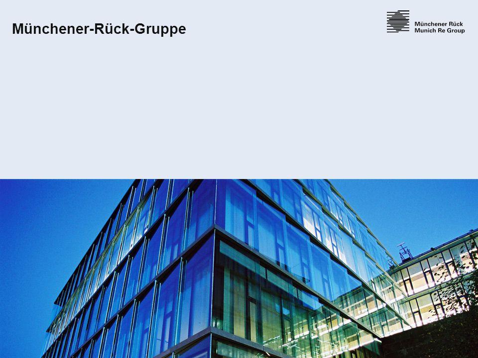 4 18.06.2015 Münchener Rück – die Geschichte 1880 Auf Initiative von Carl von Thieme, Freiherr Theodor von Cramer-Klett und Wilhelm Finck wird am 19.4.1880 die Münchener Rück gegründet.