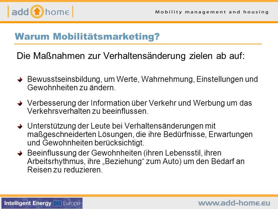 Warum Mobilitätsmarketing.