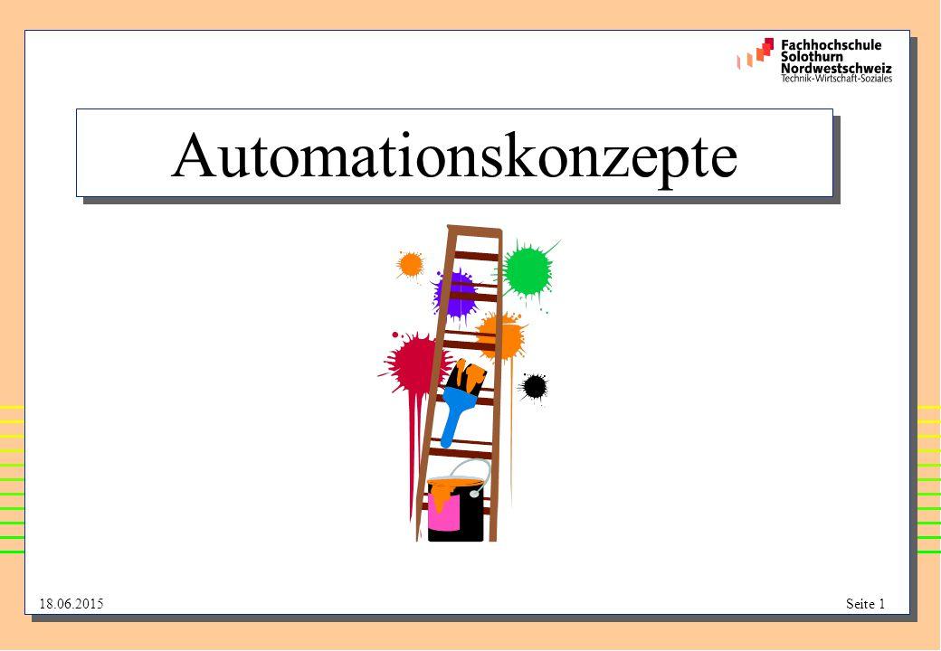 18.06.2015Seite 12 Automatisierungsgrade