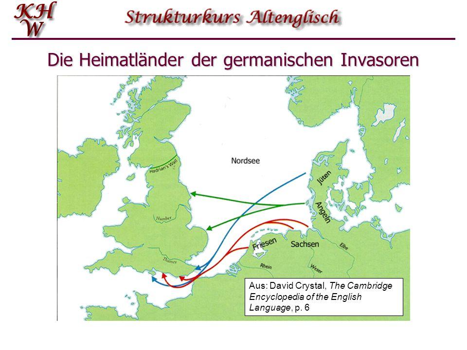 Der Begriff Altenglisch  Man versteht darunter die Sprache der germanischen Besiedler Großbritanniens vom Zeitpunkt der Besiedlung (Mitte des 5.