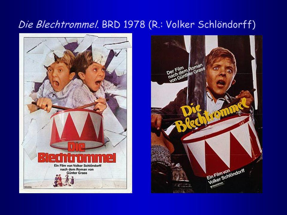 Die Blechtrommel. BRD 1978 (R.: Volker Schlöndorff)
