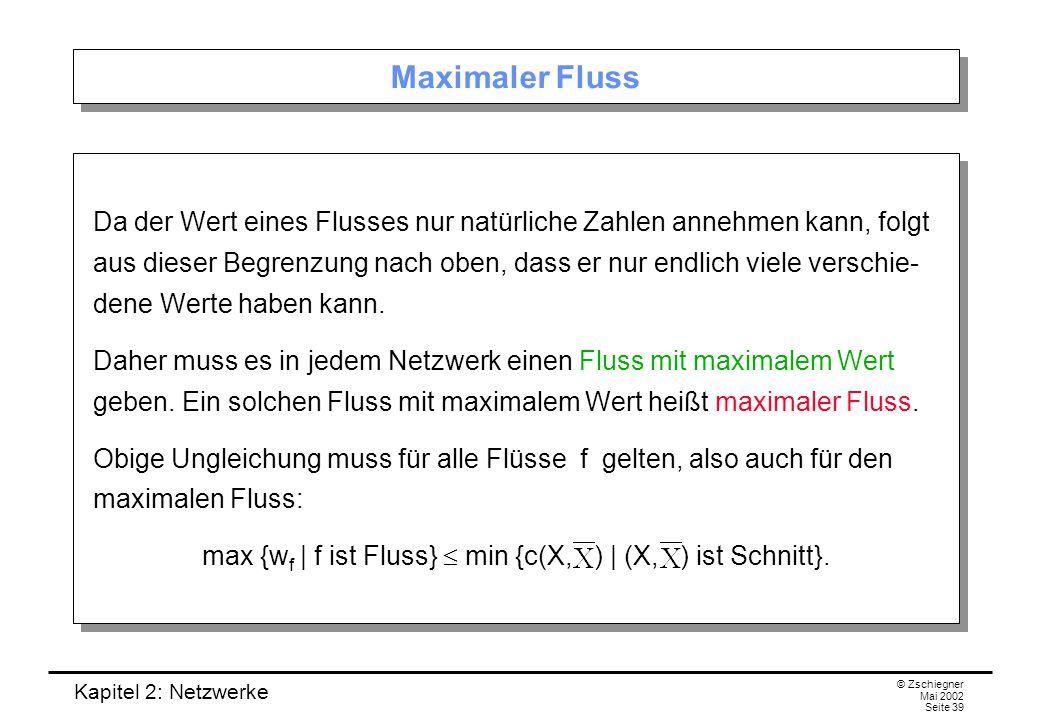Kapitel 2: Netzwerke © Zschiegner Mai 2002 Seite 40 Zwei Korollare 2.2.4 Korollar.