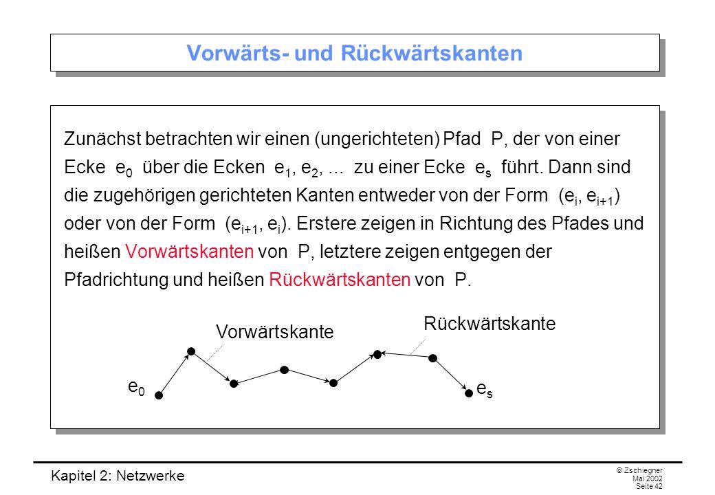 Kapitel 2: Netzwerke © Zschiegner Mai 2002 Seite 43 Wie können wir den Fluss vergrößern.