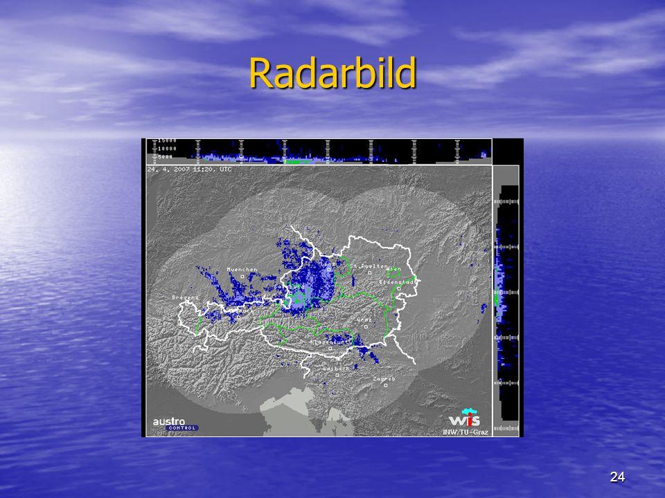 24 Radarbild