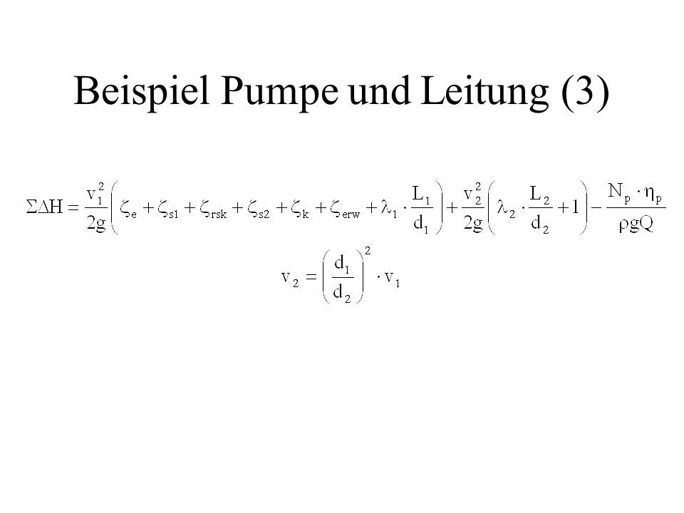 Beispiel Pumpe und Leitung (3)