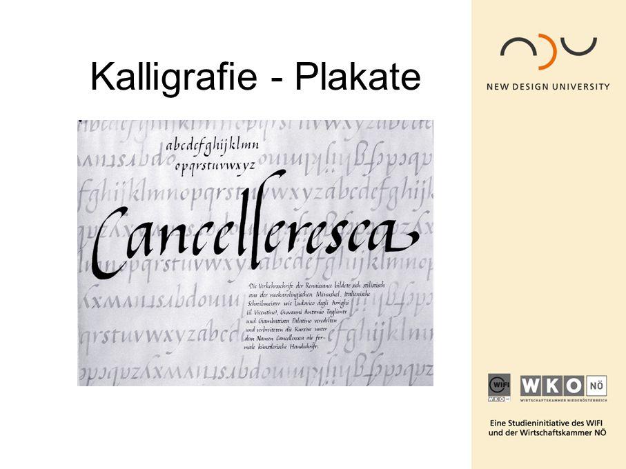 Kalligrafie - Plakate