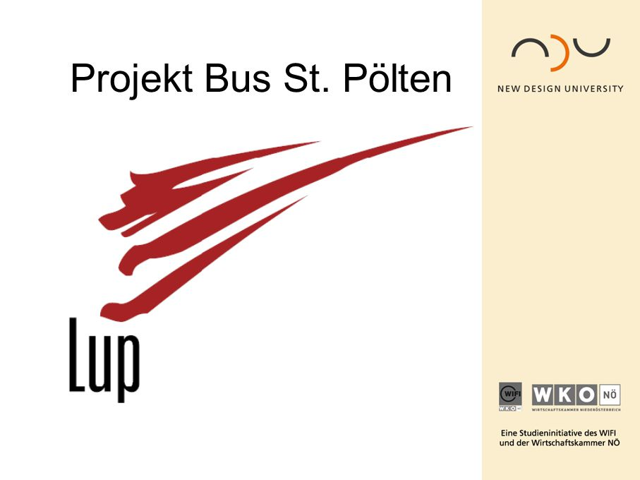 Projekt Bus St. Pölten