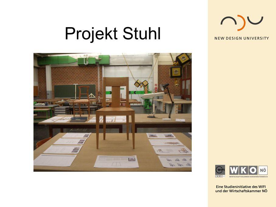 Projekt Stuhl