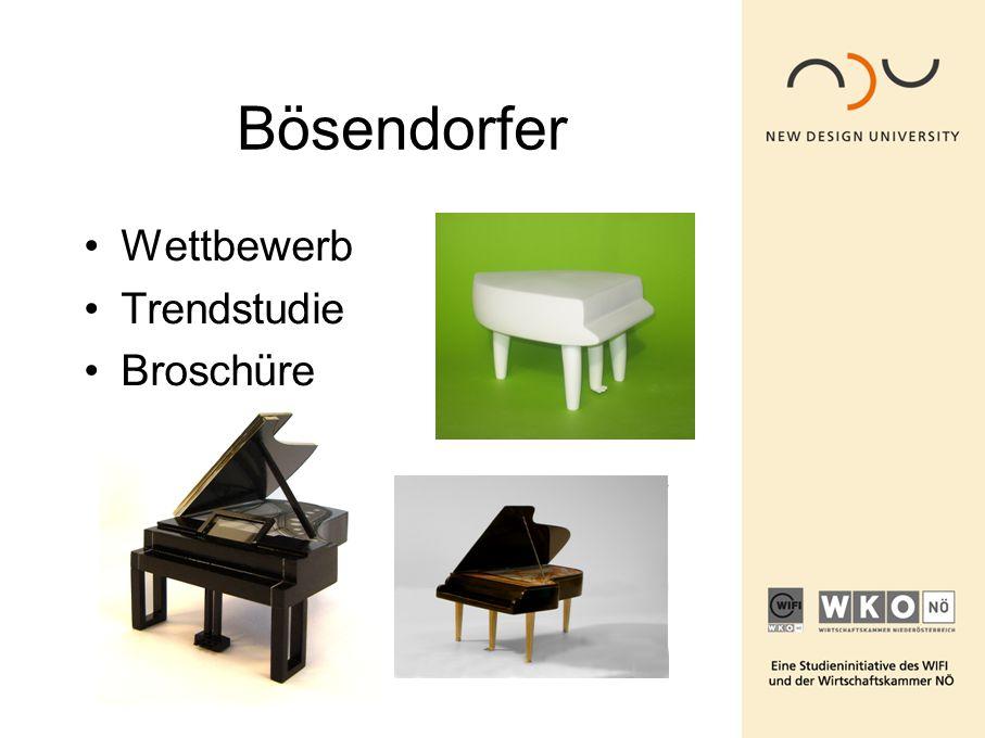 Bösendorfer Wettbewerb Trendstudie Broschüre