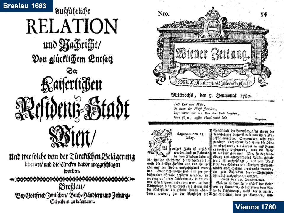 18 Breslau 1683 Vienna 1780